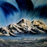 Blue Aurora Mountains 1200x960px 72res -oil
