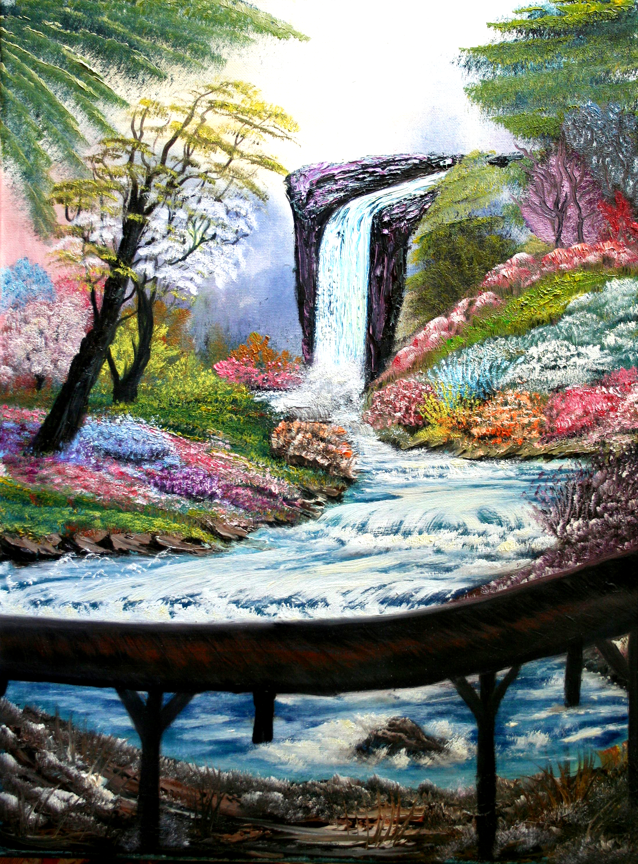 oil-Springtime Splendor: Stage III Oils Course
