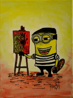 The Artist Minion: Stage I