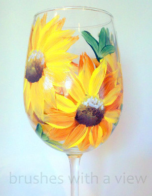 Daisy Glass Painting: Stage II