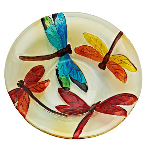 Dragon Fly Glass Painting-Paint on a Glass too!: Stage I