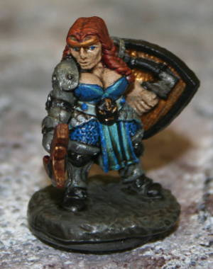 Painting Miniature Figure Ezra in Battle: Paint Crafting