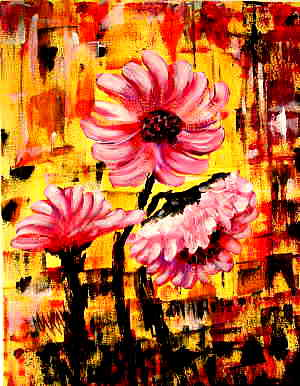 When Flowers are Wild: Stage I (Painitng PartyPainitng)