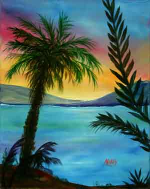 A Picturesque Palm- Stage I