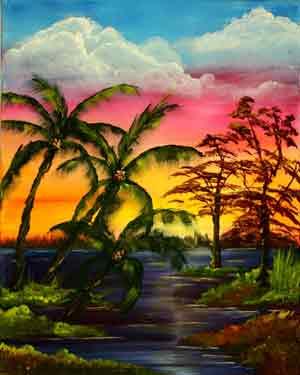 Florida's Palm Paridise: Stage III