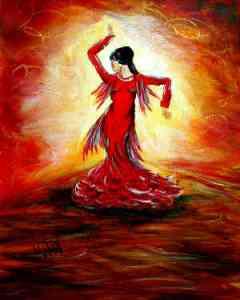 3- Flaming Flamenco