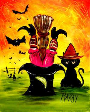 Hocus Pocus Witch's Bad Day: Stage II