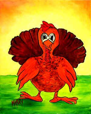 Turkey Gobbler: Stage I