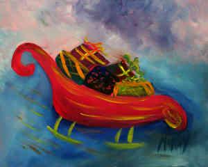 Santa's Sleigh: Stage I
