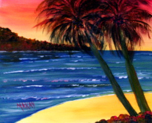Palm Tree Bliss-Stage I