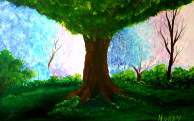 $22 New England Spring Painting Party May 2015