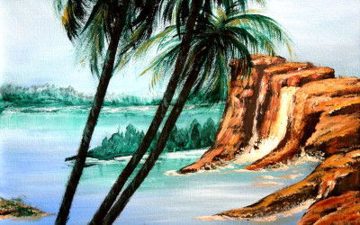 Painting Tips and Tricks – Painting a Palm Tree