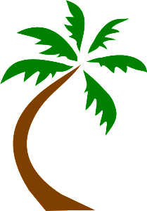 painting a palm tree #ipainttoday