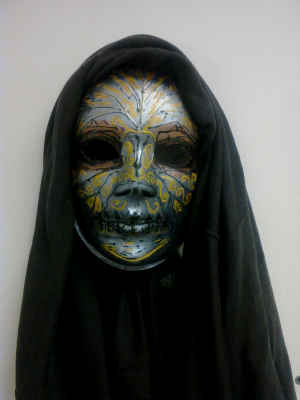 Death Eater Mask: Stage I