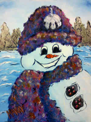 Stylin' Snowman 2: Stage I