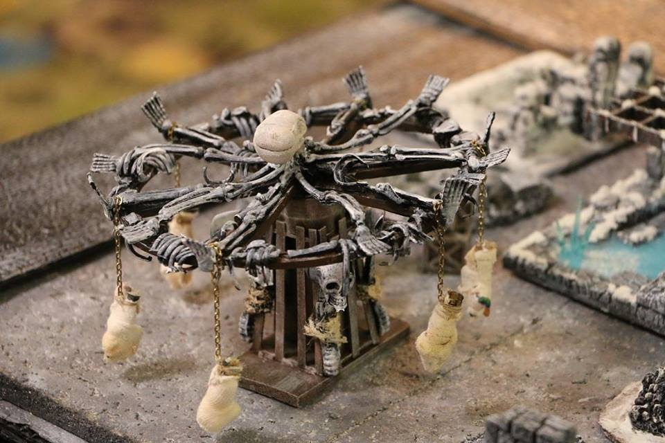 Scratch Crafted Skull Carousel