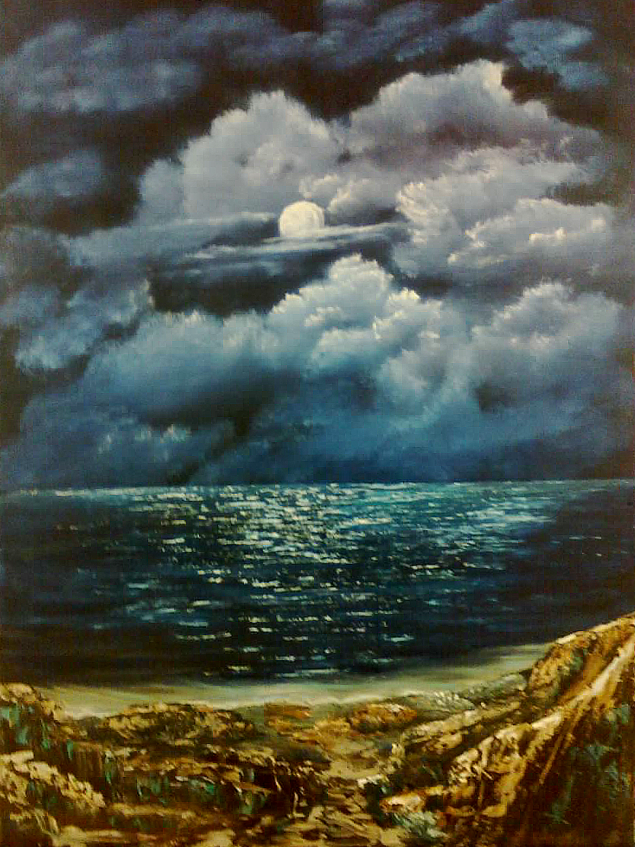 Oil-Evening Ocean Bliss: Stage I Oils Course